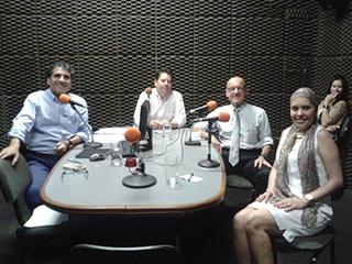 Programa de Rádio - Câncer de mama - 09/10/2014