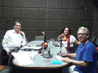 Programa de Rádio - Violência contra a mulher - 13/11/2014