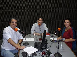 Programa de Rádio - Animais abandonados - 02/12/2014