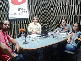 Programa de Rádio - Redes Sociais, Ciberjornalismo e ativismo digital - 16/12/2014