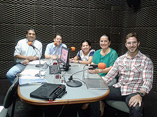 Programa de Rádio - Criminalidade no Brasil - 18/12/2014