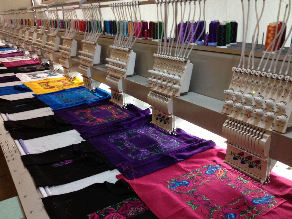 tipo de fibra têxtil produzida