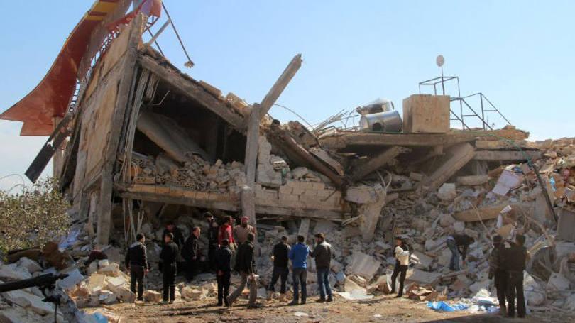 size_810_16_9_hospital-na-siria - GHAITH OMRAN - AL-MAARRA TODAY - AFP