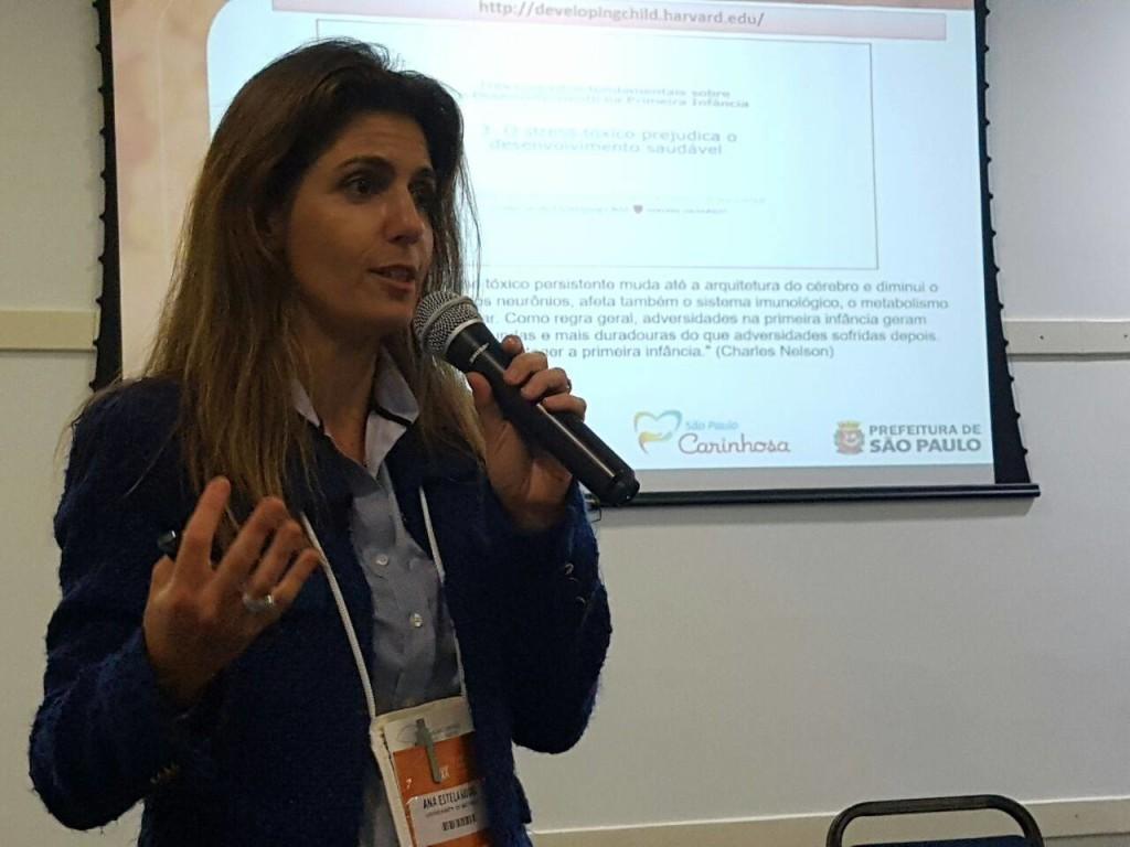 Ana Estela Haddad, coordenadora da São Paulo Carinhosa