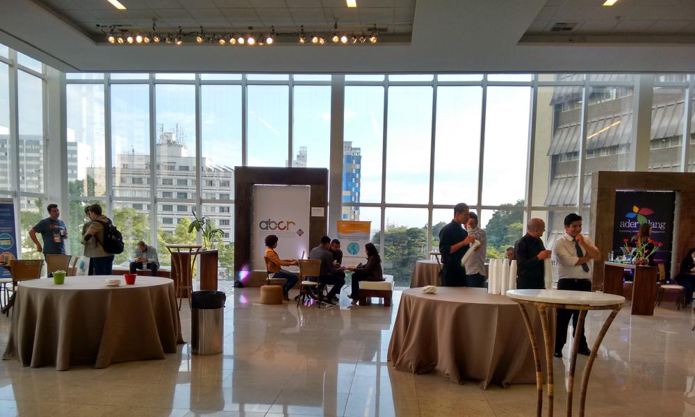 O evento ocorreu no Centro de Convenções Rebouças, em São Paulo, e além das palestras teve uma feira de expositores - Foto: Josilene Rocha