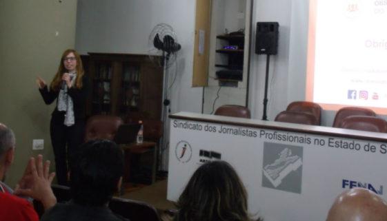 Palestra do Observatório do 3º Setor aborda mídias sociais