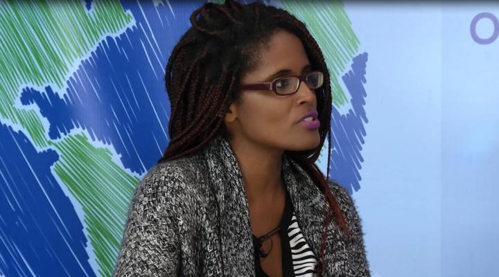 Djamila Ribeiro discute condição da mulher na sociedade