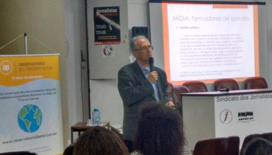 Franklin Valverde em palestra do dia 30 de junho de 2016