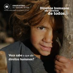 Campanha Direitos Humanos inaugural2