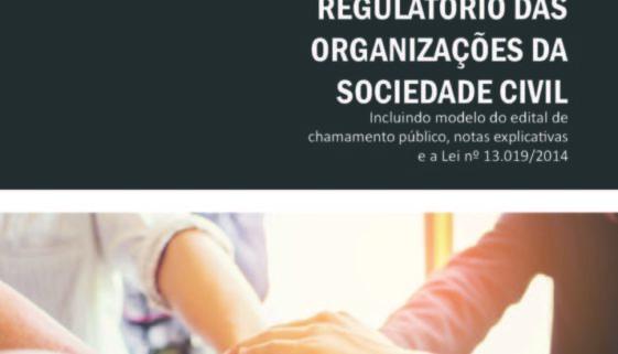 Capa do livro Estudo do marco regulatório das organizações da sociedade civil