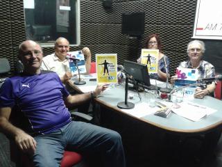 Wolf Singal, Carlos Correia, Ana Rogers e Franklin Valverde - prevenção ao suicídio