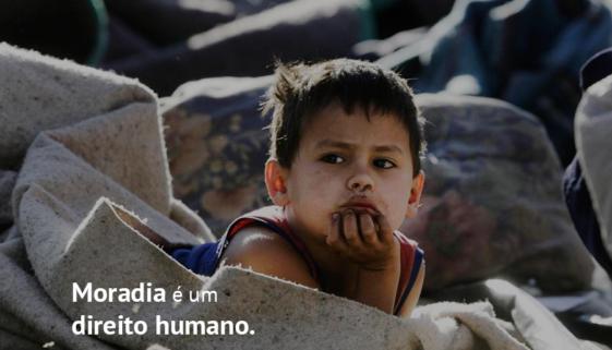 Campanha Direitos Humanos moradia