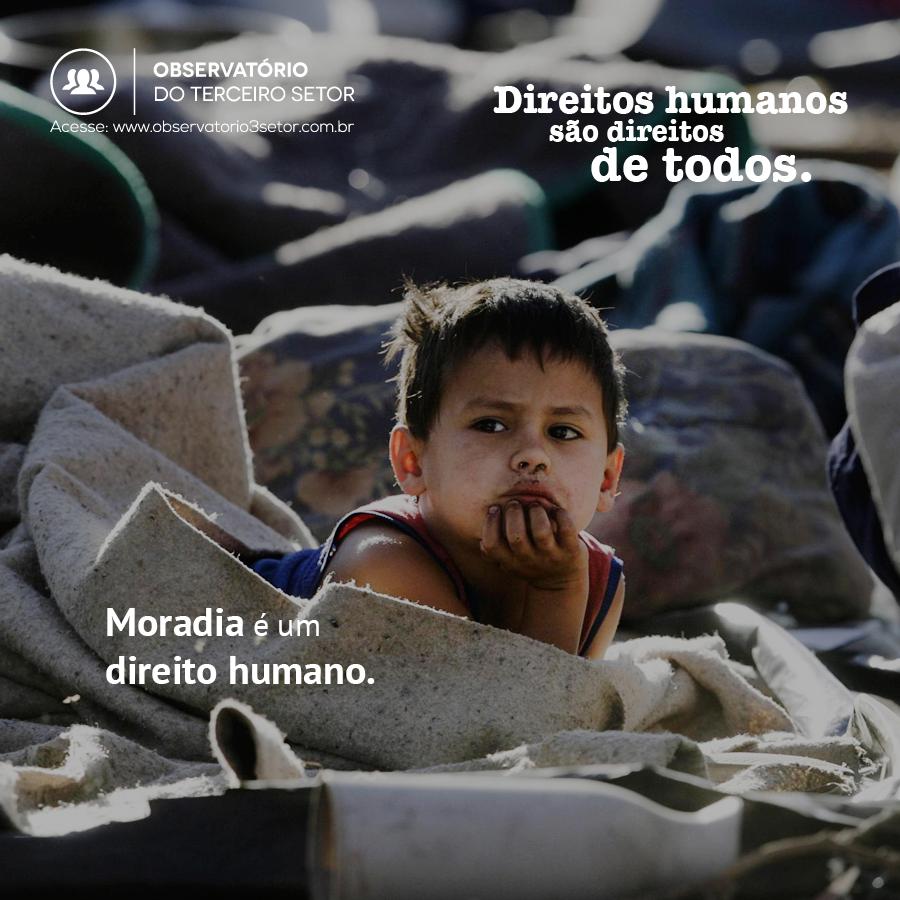 Moradia é um direito humano