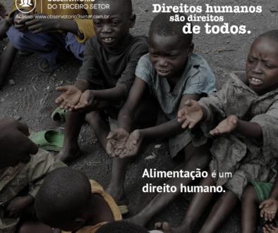 Campanha Direitos Humanos alimentacao