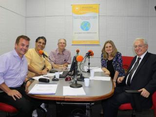 Marcelo Monello, Joel Scala, Franklin Valverde, Érika Spalding e Carlos Antonio Luque