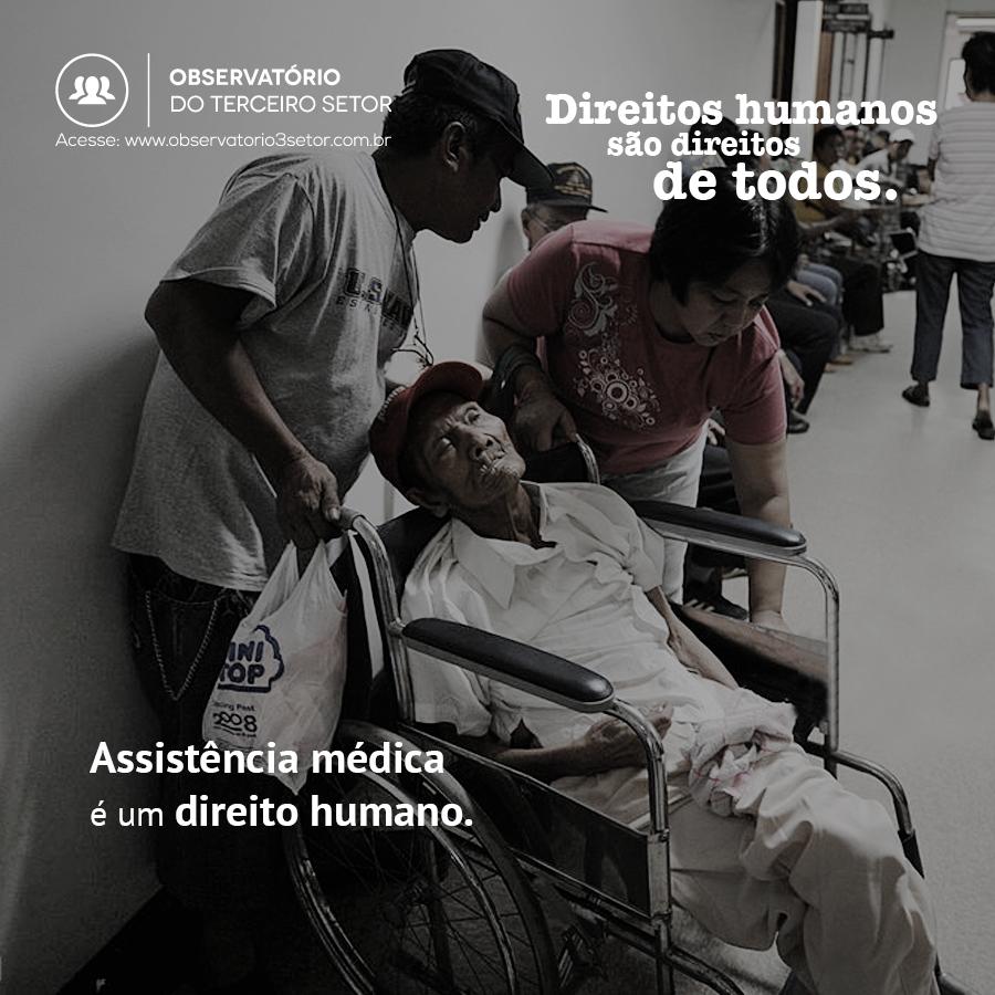 Assistência médica é um direito humano