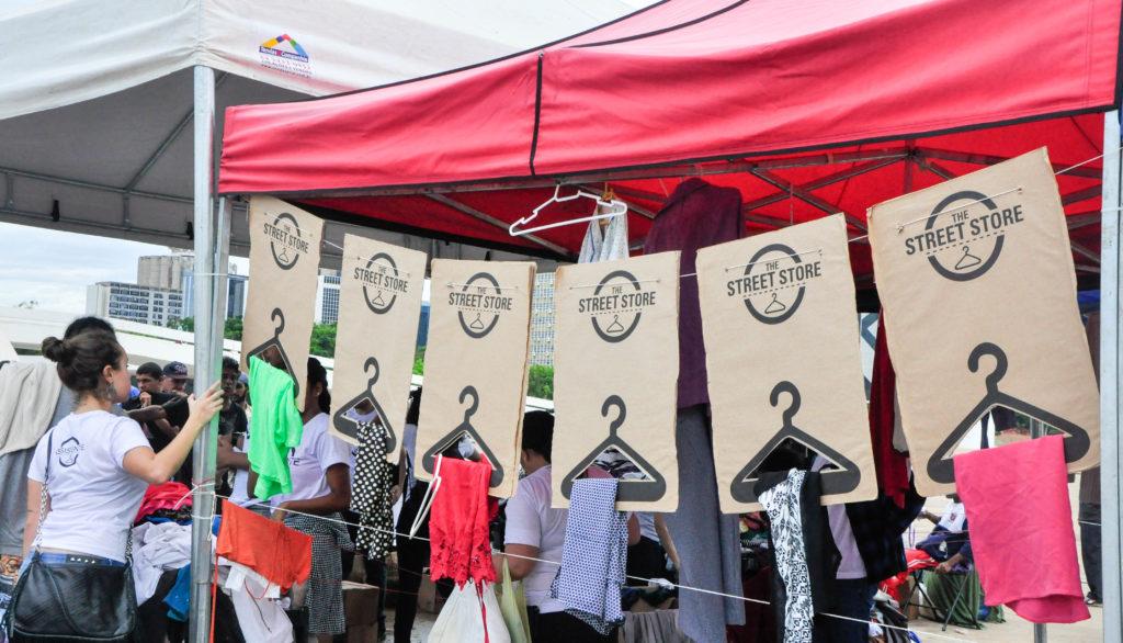 The Street Store DF faz campanha para arrecadar doações