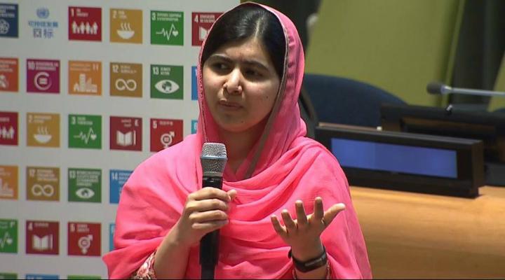 ONU nomeia Malala Yousafzai como Mensageira da Paz