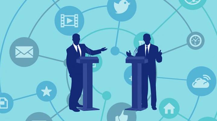 Debate político na internet