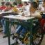 Rafael Nunes, paraplégico, estuda em