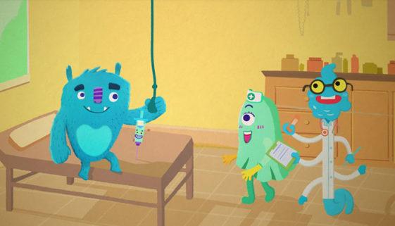 Desenho animado ajuda crianças com câncer a entenderem a doença