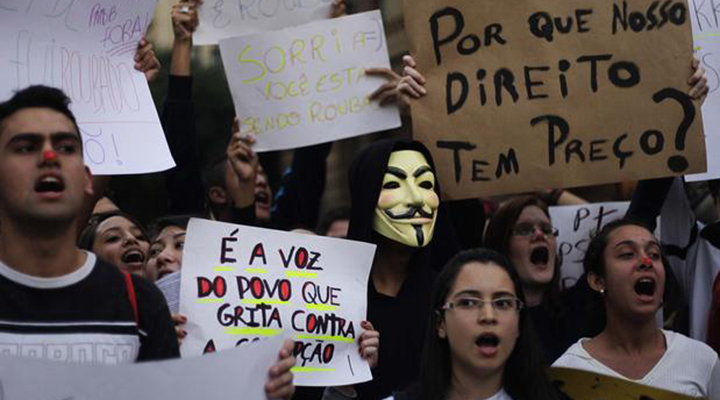 A crise da democracia no Brasil