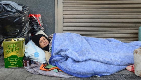 Mulheres em situação de rua