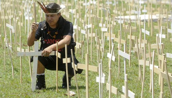 Meio ambiente e causa indígena