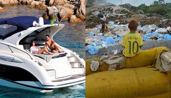 Há 4 anos, ricos ficam mais ricos e pobres ficam mais pobres no Brasil