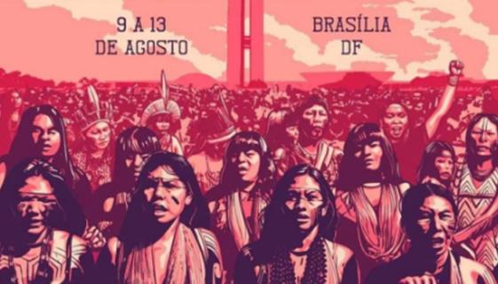 Brasília sedia Primeira Marcha das Mulheres Indígenas