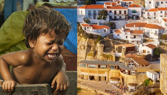 Brasil: número de crianças na pobreza é o dobro da população de Portugal