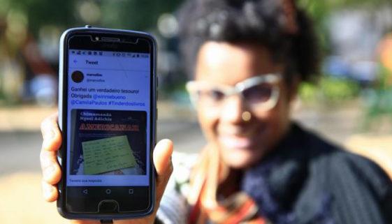 Iniciativa promove o acesso à livros para pessoas negras no país