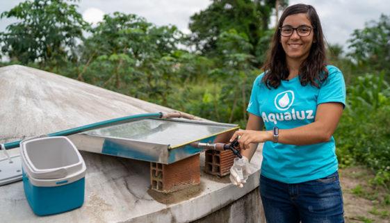 Brasileira ganha prêmio ambiental oferecido pela ONU