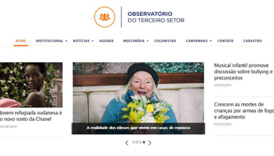 Conheça o novo site do Observatório do Terceiro Setor