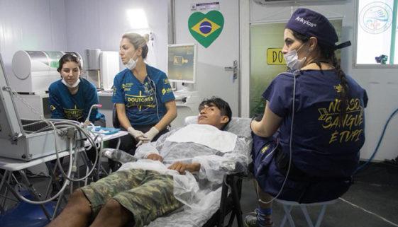 ONG leva tratamento odontológico para população do Alto do Xingu