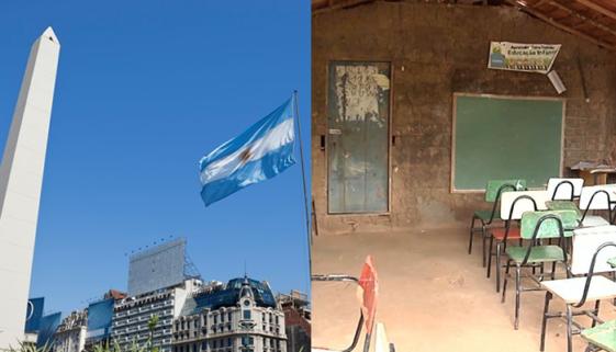 Taxa de analfabetismo no Brasil é 10 vezes maior que na Argentina