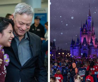 Ator do filme Forrest Gump leva para a Disney mais de mil crianças órfãs