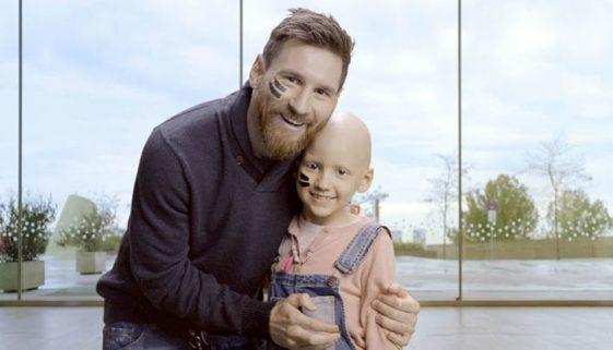 Messi faz doação para construir maior hospital de câncer infantil europeu