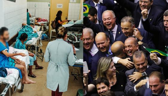 Congresso pretende cortar verba da saúde para destinar a fundo eleitoral