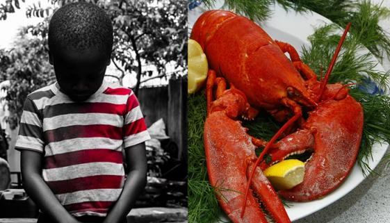Brasileiros passam fome e STF tem aval para comprar lagostas e vinhos