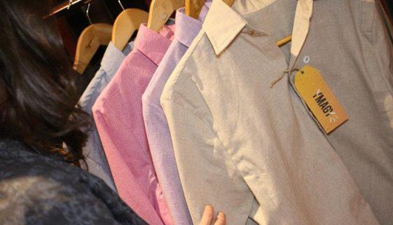 Startup brasileira produz camisas sociais com tecido reciclado