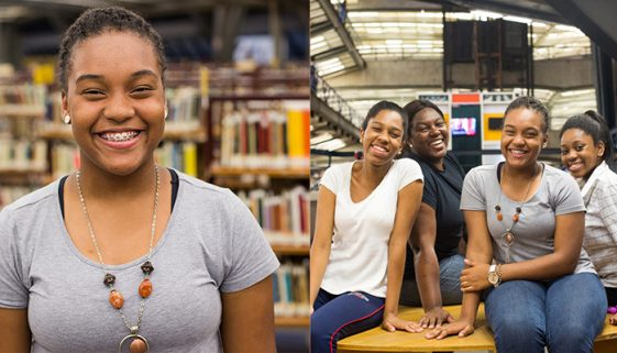 Jovem da periferia lidera projeto voltado para meninas negras