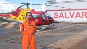 Após um ano da tragédia, bombeira relembra salvamentos em Brumadinho