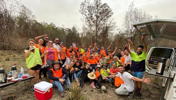 Brasileiros que vivem na Austrália criam grupo de voluntariado