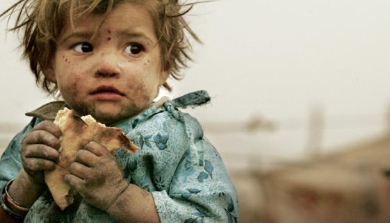 1 em cada 2 crianças menores de 5 anos sofre de fome oculta no mundo