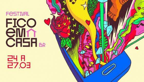 Festival Fico em Casa transmitirá apresentações musicais online