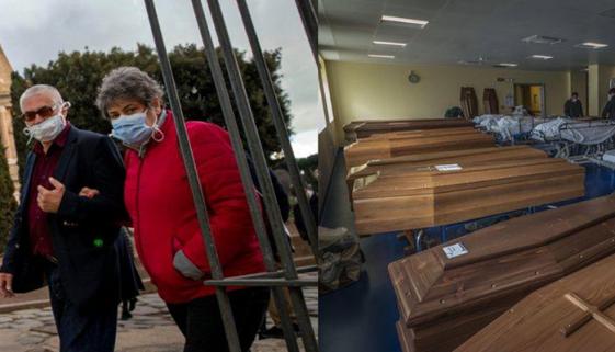 Pico de mortos e infectados na Itália começou com quebra de quarentena