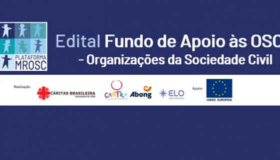 Fundo de apoio às Organizações da Sociedade Civil