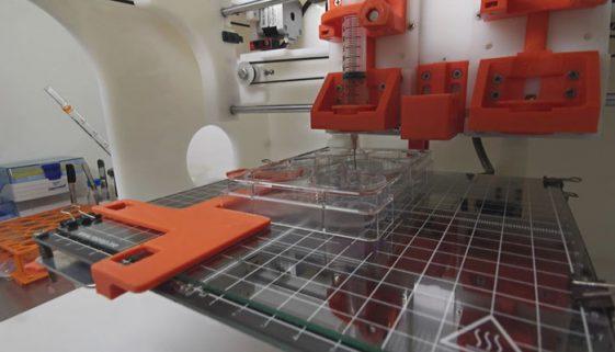 Startup cria curativo com impressão 3D
