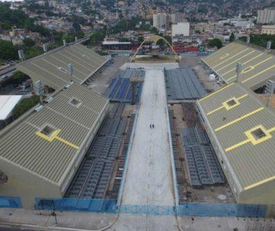 Rio transforma Sambódromo em abrigo para pessoas em situação de rua